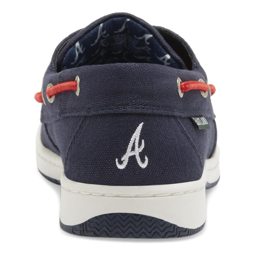 Women's Solstice MLB Atlanta Braves Canvas Boat Sh