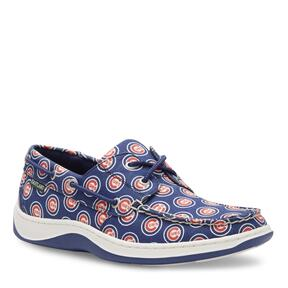 Men's Summer MLB Chicago Cubs Canvas Boat Shoe vie
