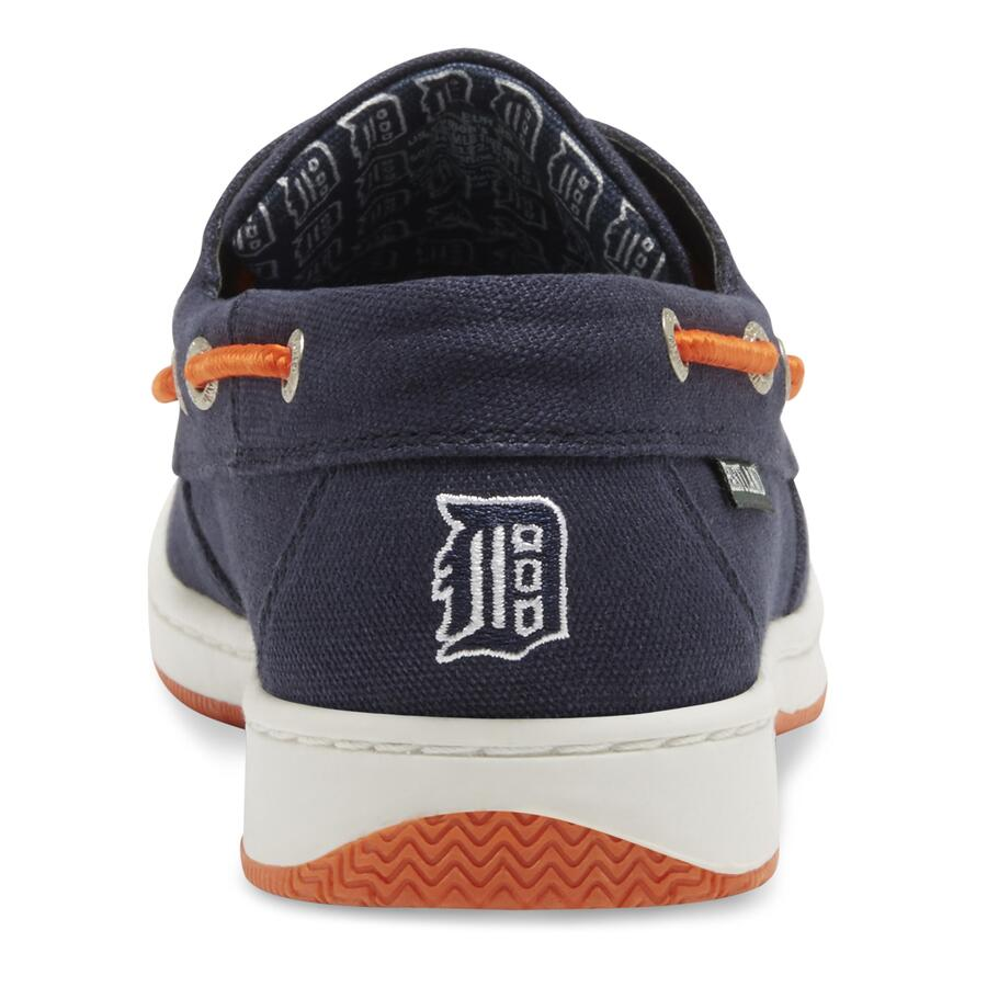 Women's Solstice MLB Detroit Tigers Canvas Boat Sh