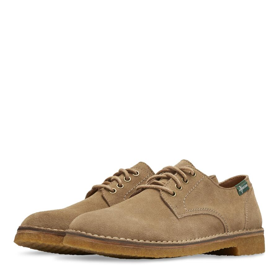 Men's Morris 1955 Crepe Sole Oxford view 5 Khaki S