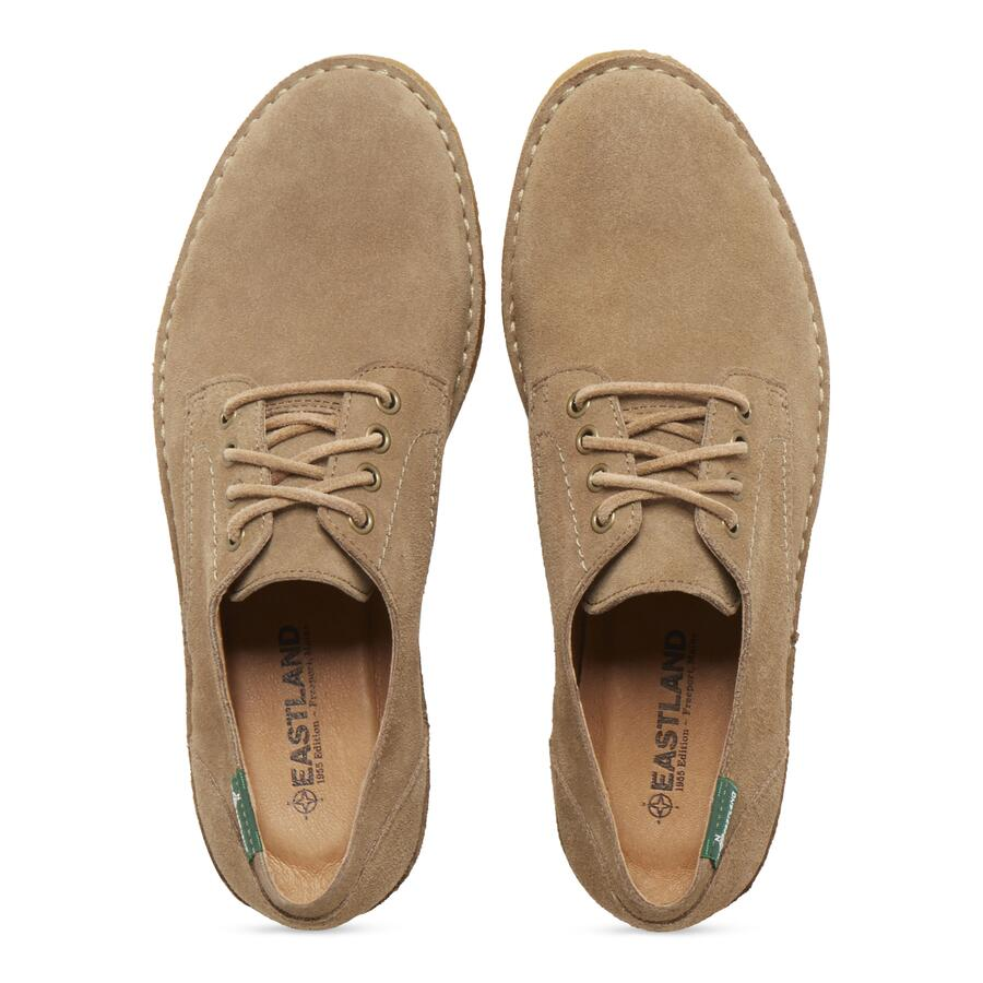 Men's Morris 1955 Crepe Sole Oxford view 4 Khaki S