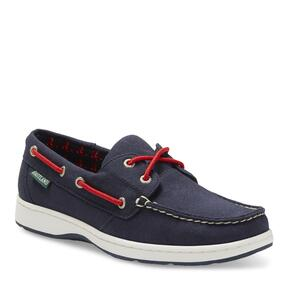 Women's Solstice MLB Boston Red Sox Canvas Boat Shoe