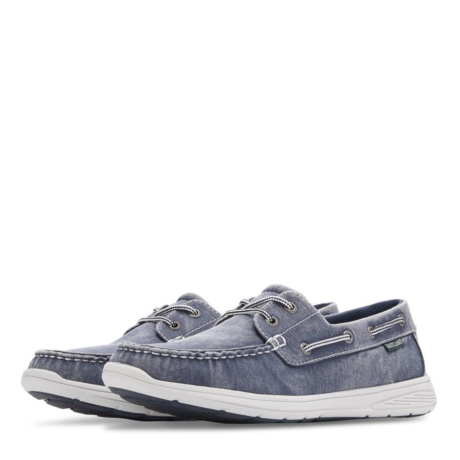 Men's Hayden Canvas Boat Shoe view 5 Navy Canvas