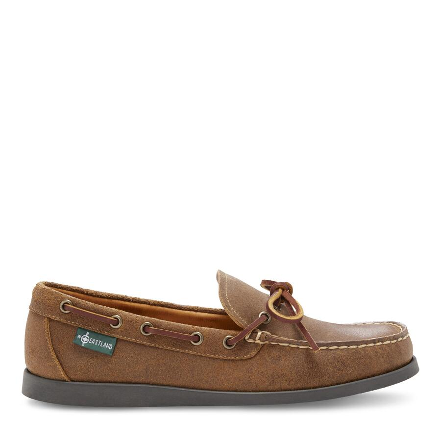 Men�s Yarmouth 1955 Camp Moc Slip On view 2 Tan
