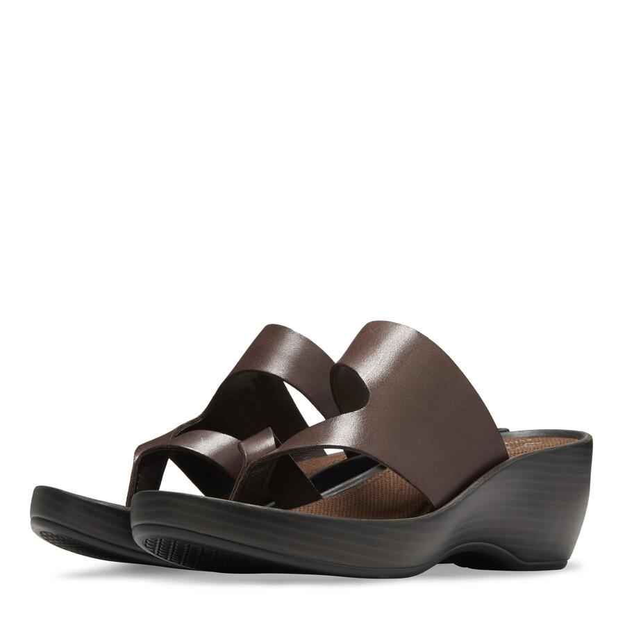 Women's Laurel Wedge Thong Sandal view 5