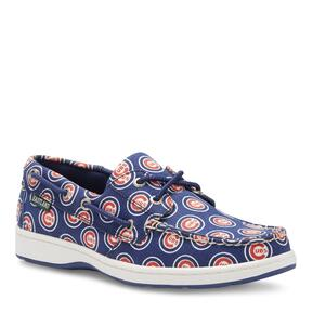 Women's Summer MLB Chicago Cubs Canvas Boat Shoe v