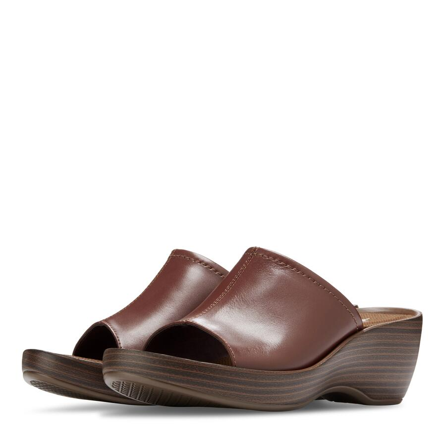 Women's Annie Wedge Slide Sandal view 5