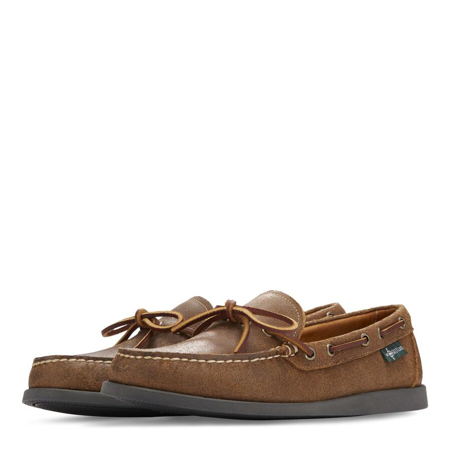 Men�s Yarmouth 1955 Camp Moc Slip On view 5 Tan