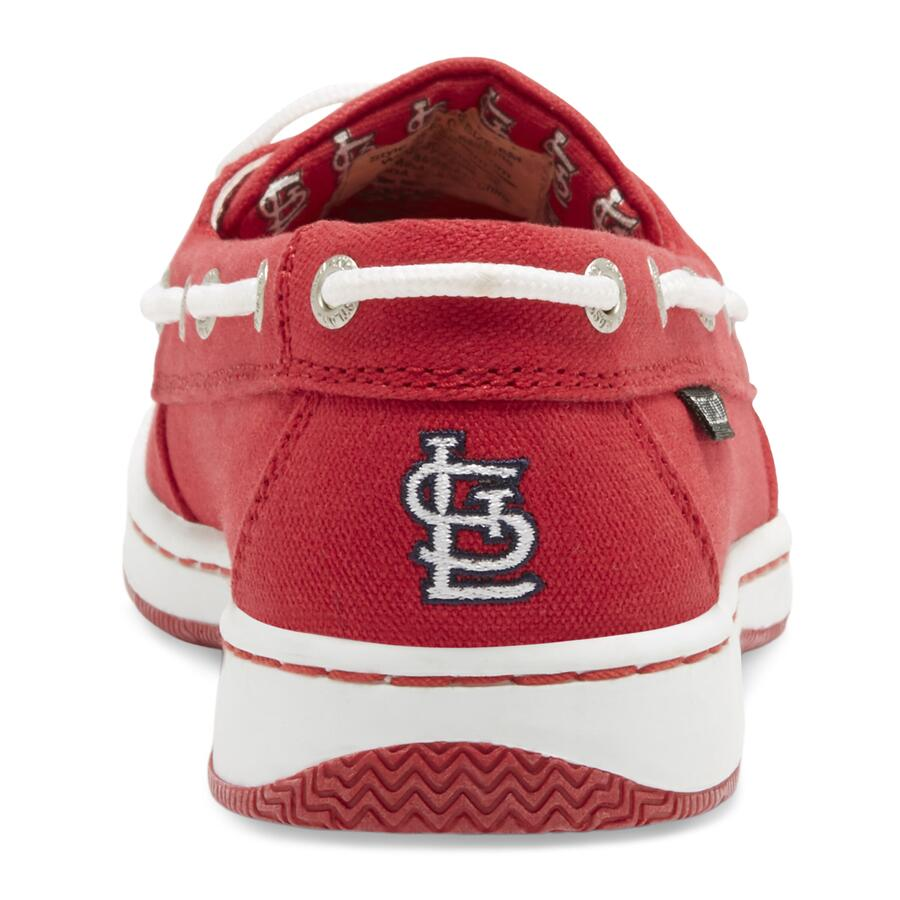 Women's Sunset MLB St Louis Cardinals Canvas Boat