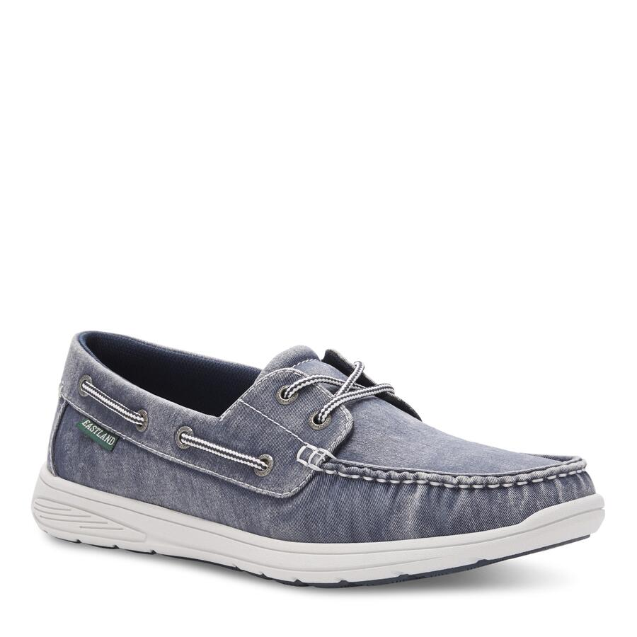 Men's Hayden Canvas Boat Shoe view 1 Navy Canvas