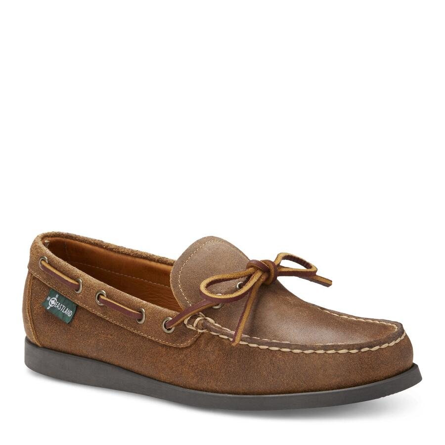 Men�s Yarmouth 1955 Camp Moc Slip On view 1 Tan