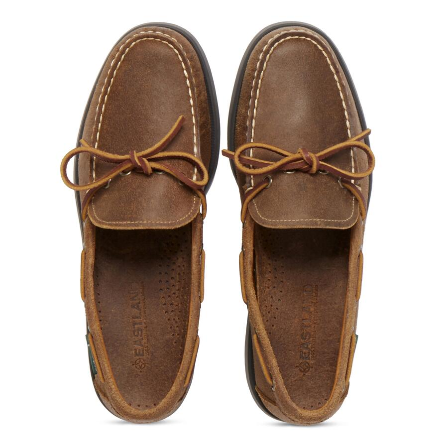Men�s Yarmouth 1955 Camp Moc Slip On view 4 Tan